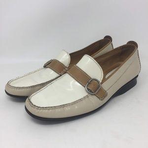 Cole Haan SlipOn Resort Loafer Womens Creme 7.5 B